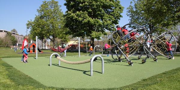 Spielplatz beim Seeburgpark in Kreuzlingen