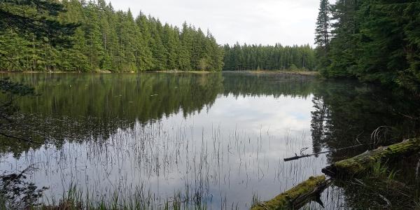 Summit Lake (Mt. Constitution)