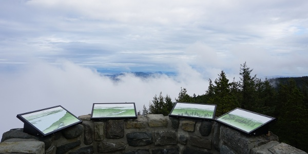 View from summit of Mt. Constitution