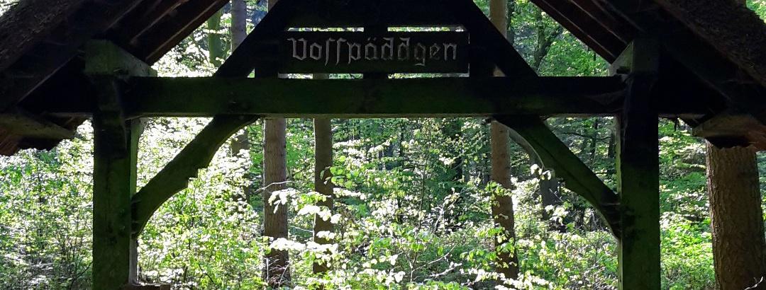 Der Eingang zum Vosspäddken