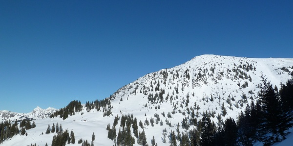 Krinnenspitze im Winter