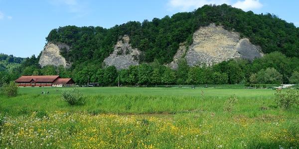 Gysnauflühe von Burgdorf aus gesehen.