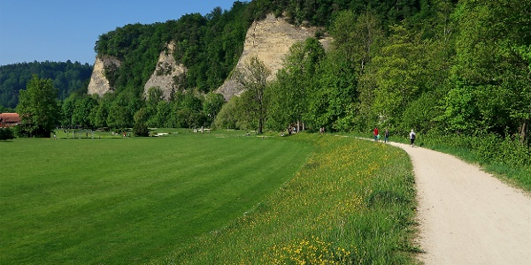 Spazier- und Wanderweg nahe der Waldeggbrügg.