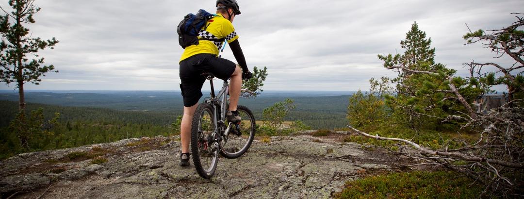 Mountainbiken in Finnland