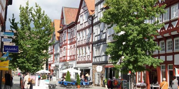 Schleifenroute - Stadtansicht Stadt Melsungen