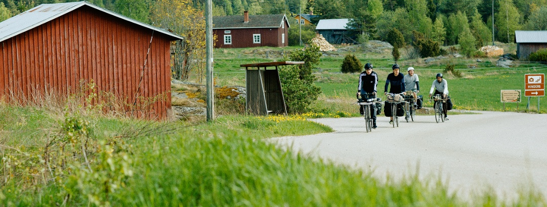 Radtour in Finnland