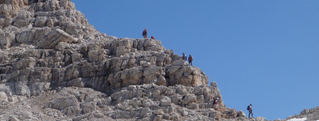 Bocca Alta di Vallesinella, via ferrata Alfredo Benini
