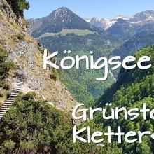 Königsee und Grünstein Kletterseig