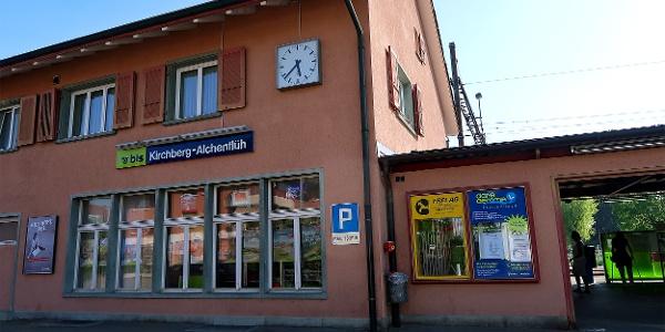 Bahnhof Kirchberg-Alchenflüh.