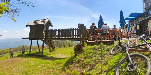 ÖTK-Hcoheck-Schutzhaus: Beliebtes Ausflugsziel für Mountainbiker und Familien mit Kindern