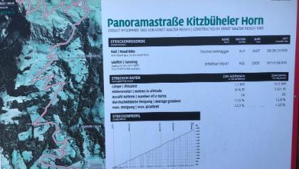 Start Panoramastrasse Kitzbüheler Horn