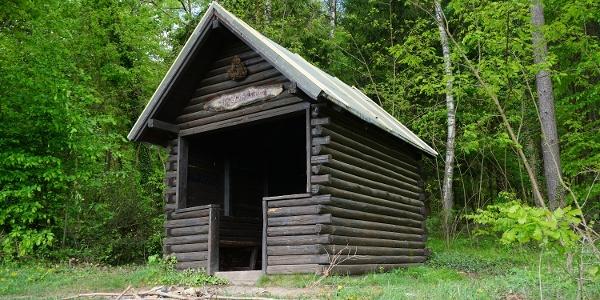 Schutzhütte und Rettungspunkt Nr. 440