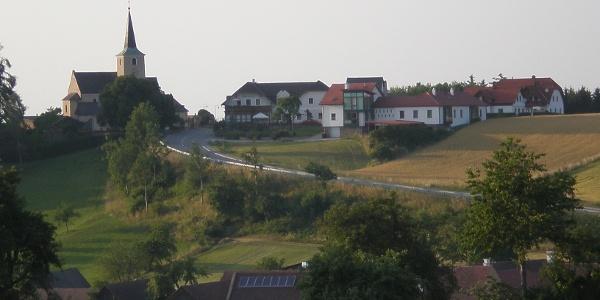 Ausblick auf den Ort Brand