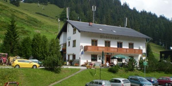 Gasthof Plodererhof im Sommer