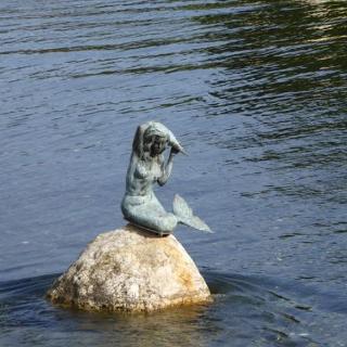 Meerjungfrau am Millstättersee