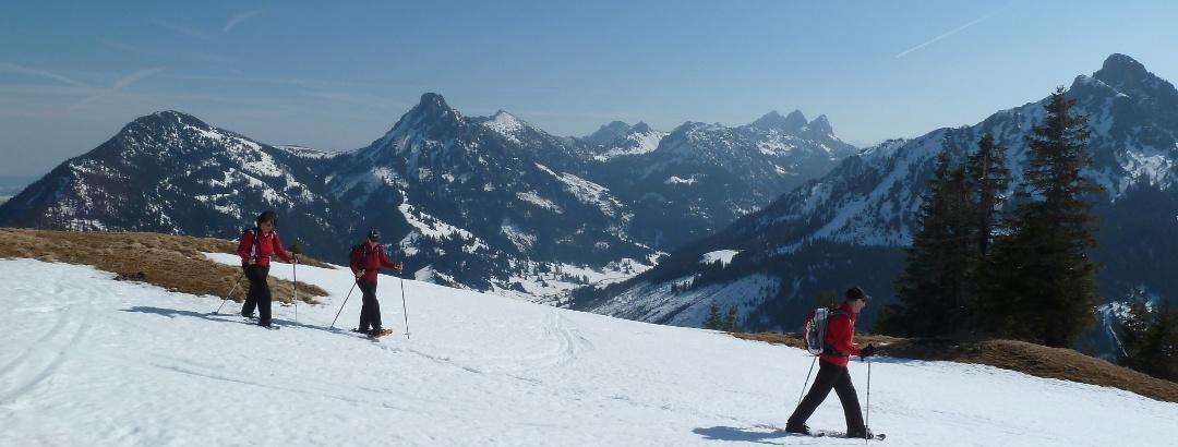 Schneeschuhtour zum Schönkahler