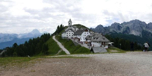 Der Monte Lussari