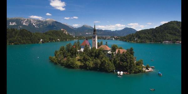 Wonderful Europe - Slovenia - Lake Bled - 2017 - Drone footage | DJI Phantom 4 |