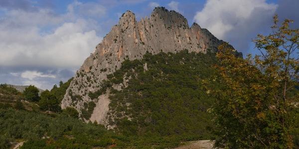 Südseite des Rocher St. Julien