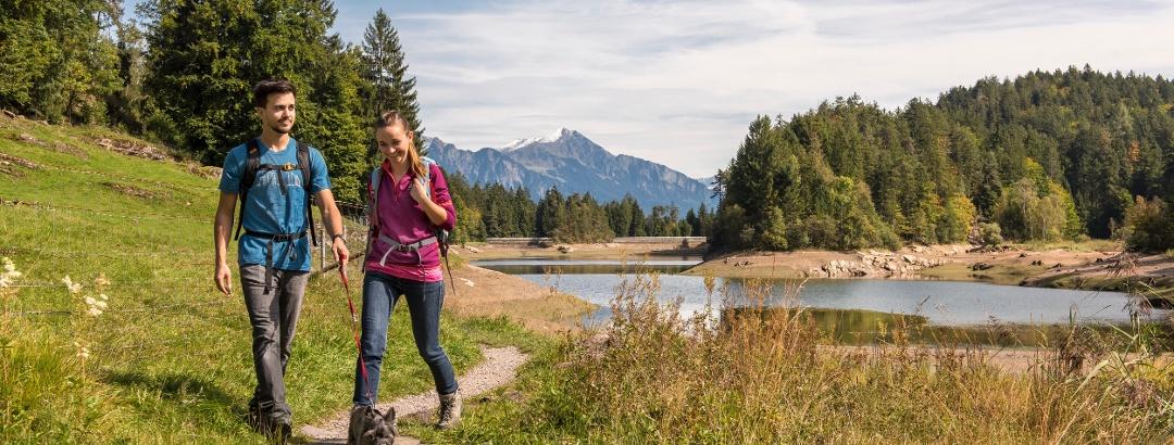 Wandern am Chapfensee