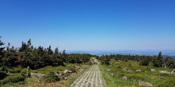 Abstieg Kolonnenweg