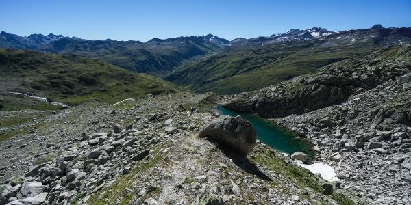 Ein wunderbare Aussicht über die südlichen Alpen
