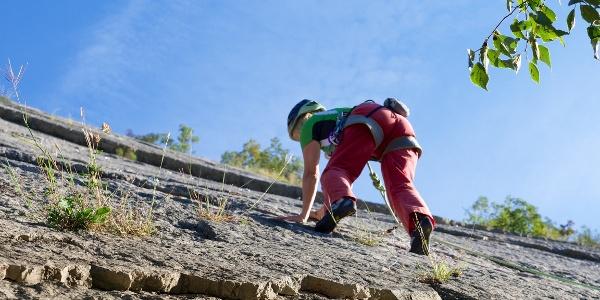 Climbing alle Placche di Baone