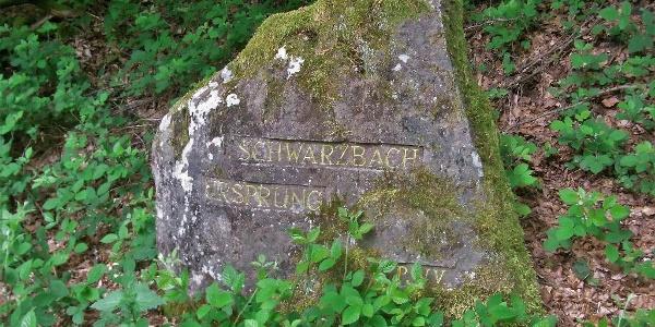 PWV-Ritterstein Nr. 245 , Schwarzbach-Ursprung