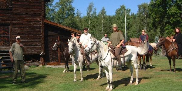 Pilgrimer vid Rengsjö hembygdsgård