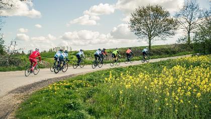 Rennradfahren an der Lübecker Bucht