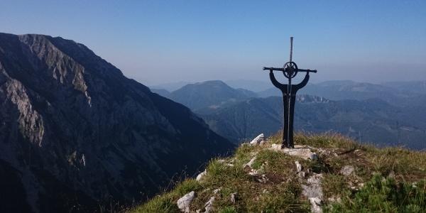 Am Gipfel des Wildkamm