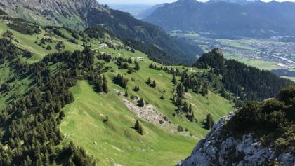 Blick von der Gaichtspitze