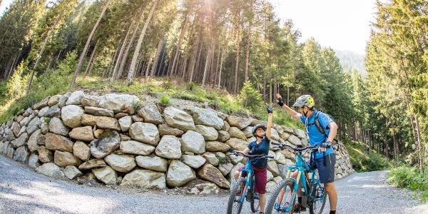 E-Biking at Ötztal Cycle Trail