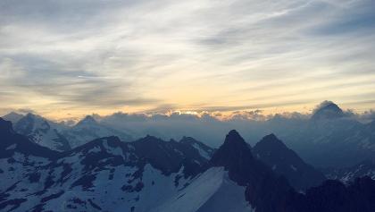 Sonnenaufgang auf dem Torrenthorn