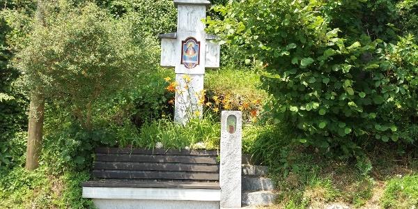 Bildstock mit Rastplatz am Zigöllerkogel