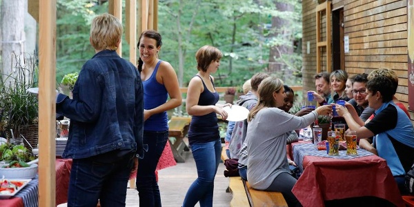 Waldgastronomie im FunForest Abenteuerpark