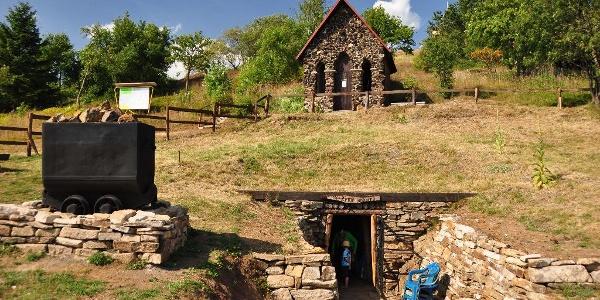 Mining landscape Mědník - Země zaslíbená adit