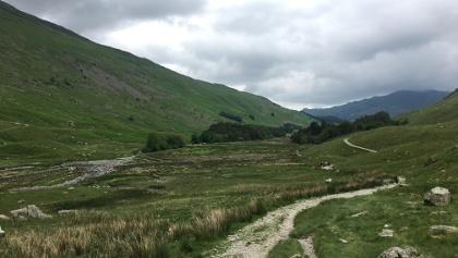 Open green valleys