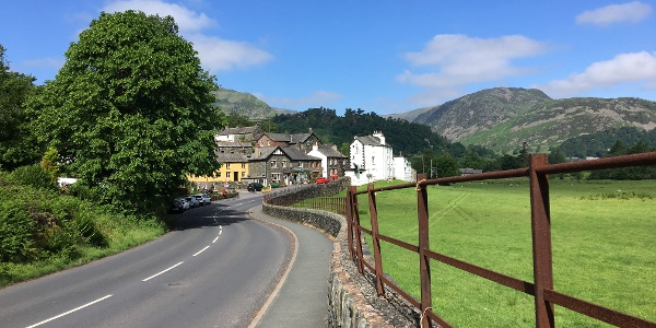 The road through Patterdale