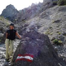 Foto von Bergtour: Gsengscharten-Runde - Haindlkarhütte • Alpenregion Nationalpark Gesäuse (09.06.2018 19:53:45 #2)