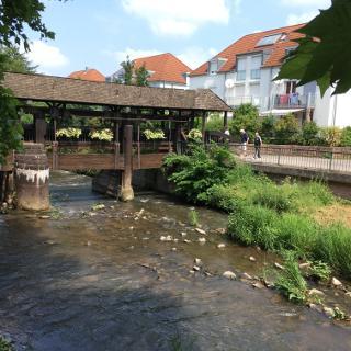 Brücke über die Alb in Ettlingen