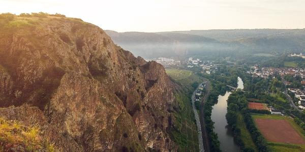 Blick vom Rotenfelsmassiv - Aussichtspunkt Bastei