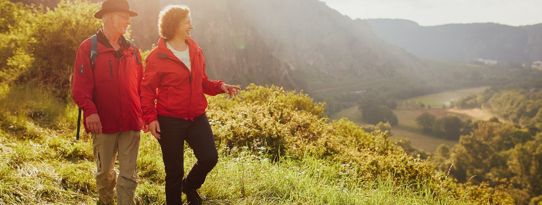 Spaziergang auf dem Rotenfelsmassiv