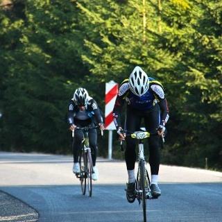 Rennrad im Harz