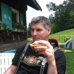 Hüttenwart Manfred Korger
