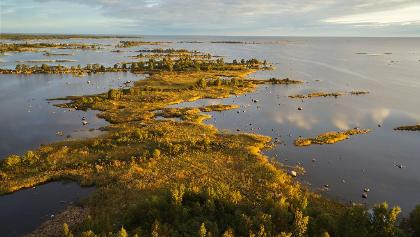 L'archipel de Kvarken est surtout connu pour les formations des moraines distinctives de De Geer.