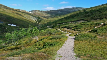 Wanderwege in Pallas