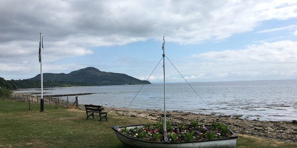 Whiting Bay and Holy Isle