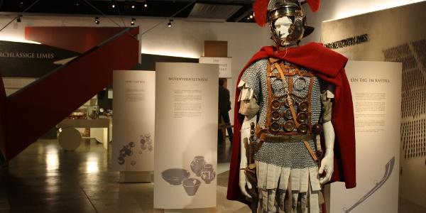 Ausstellung zum Leben der Römer am Limes mit allen Aspekten