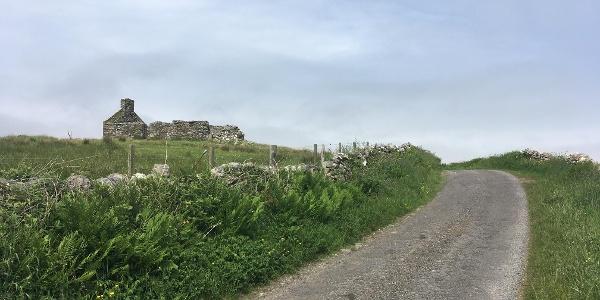 The road out to Aoradh Farm